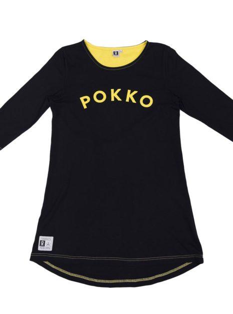 501-76_Womens_Tunic_Black-Yellow