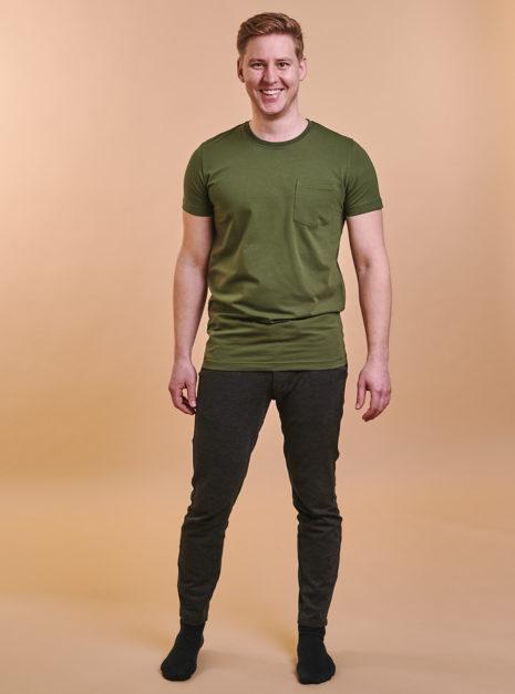 mike-t-shirt-oliivi-2