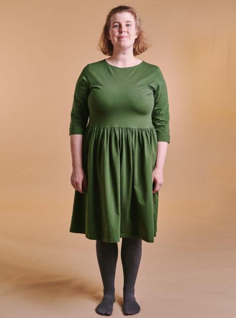 lovisa-dress-oliivi
